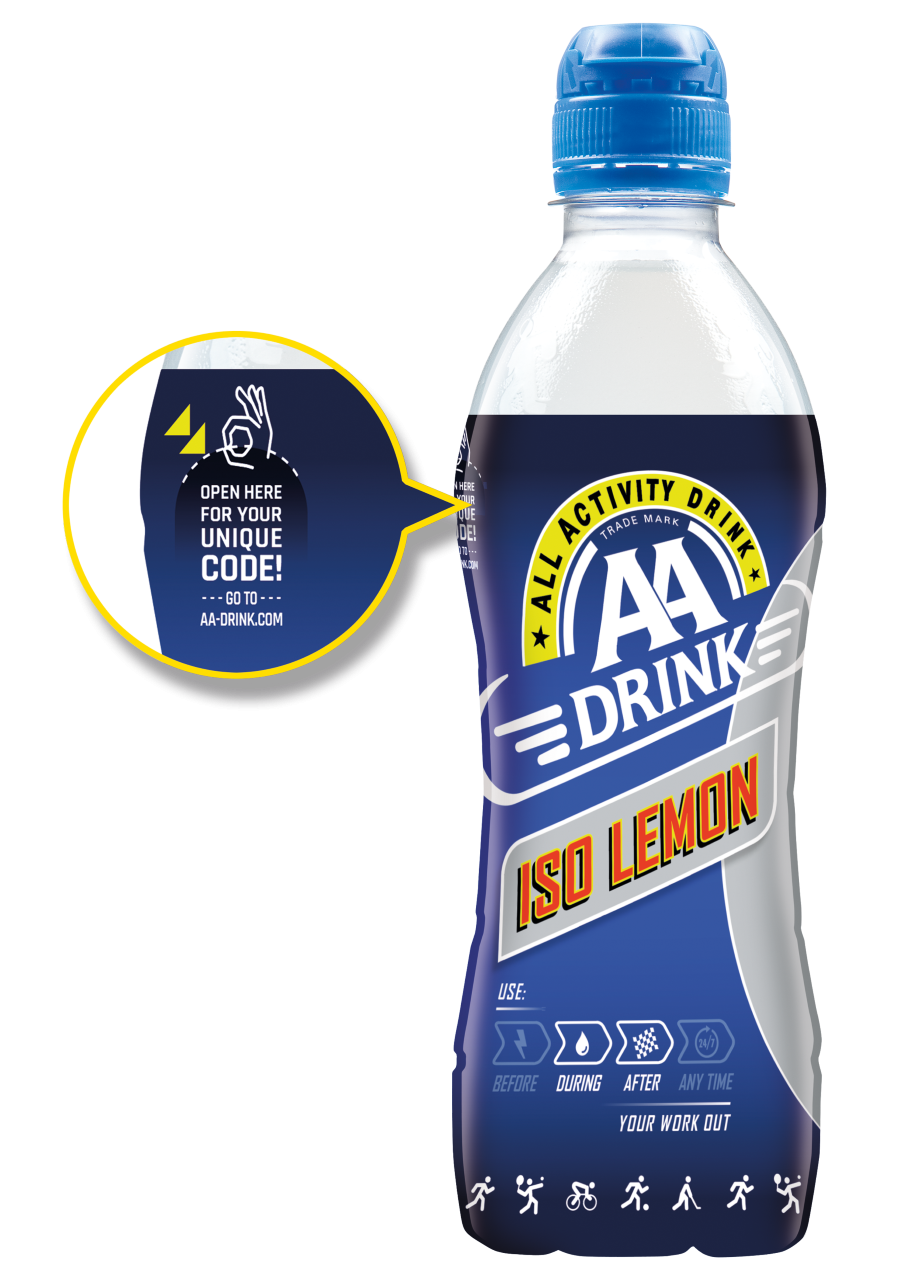 AA Drink Boost Points
